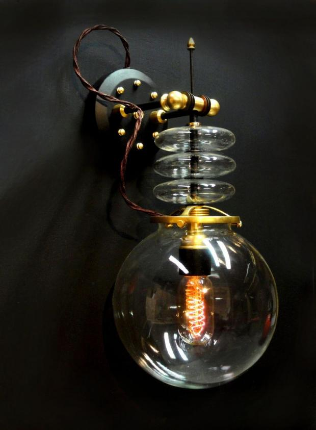 32 Totally Cool Steampunk Light Fixtures