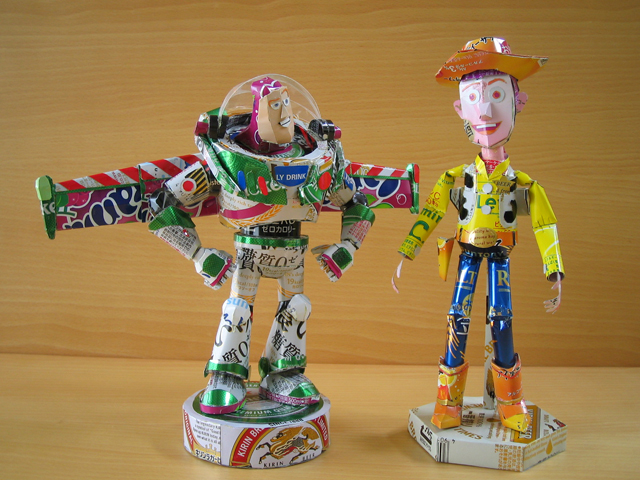 Buzz Lightyear and Woody!