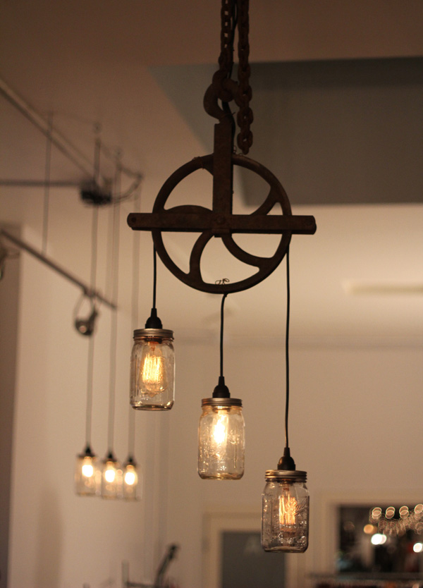 Cool vintage industrial steampunk street light fixture for How to make an industrial lamp