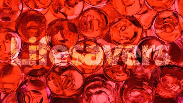 microscopic view of blood cels behind the text: Lifesavers